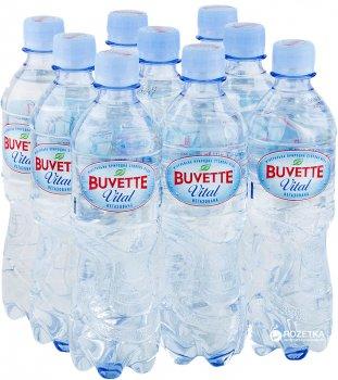 Упаковка минеральной негазированной воды Buvette Vital 0.5 л х 9 бутылок (4820115400917_4820115401259)