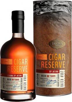 Бренди Jatone Cigar Reserve XO 30 лет выдержки 0.7 л 40% (4820000626057)