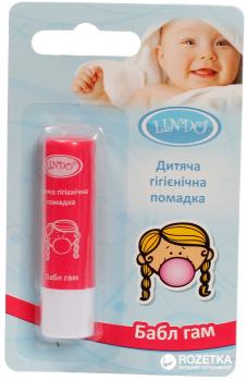 Гигиеническая помада Lindo Bubble Gum 4.5 г (4826721517711)