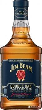 Виски Jim Beam Double Oak 4 - 5 лет выдержки 0.7 л 43% (5060045585912)
