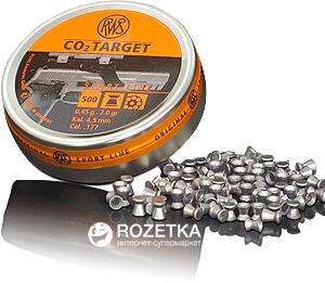 Свинцовые пули Dynamit Nobel Sport RWS CO2-Target 4.5 мм 500 шт (2135973)