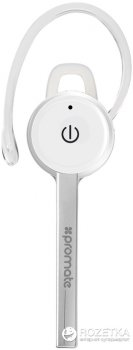 Bluetooth-гарнитура Promate Ace White (ace.white)