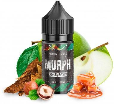 Рідина для електронних сигарет Murph 30 мл Courage (Зелене яблуко + лісовий горіх + тютюн + карамель)
