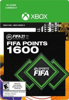 Поповнення рахунку ігри Xbox One FIFA 21 на 1600 FUT очок (Xbox One)