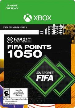 Поповнення рахунку ігри Xbox One FIFA 21 на 1050 FUT очок (Xbox One)