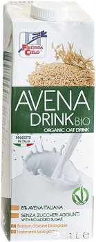 Напиток овсяный органический La Finestra 1 л (8017977013645)