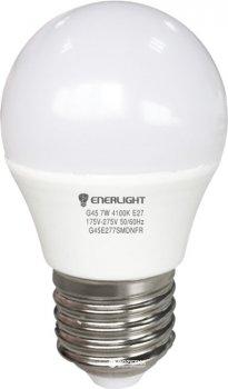 Світлодіодна лампа Enerlight G45 7 Вт 4100 K E27 (G45E277SMDNFR)