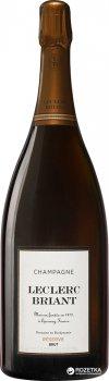 Шампанське Leclerc Briant Brut Rezerve біле сухе органічне 9 л 12% (3465020000770)