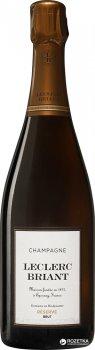 Шампанське Leclerc Briant Brut Rezerve біле сухе органічне 0.75 л 12% (3465020000671)