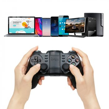 Беспроводный игровой геймпад Ipega PG-9076 для Android/PC/IOS/PS3/Андроид Tv Box, джойстик для телефона, контроллер (PG-9076)