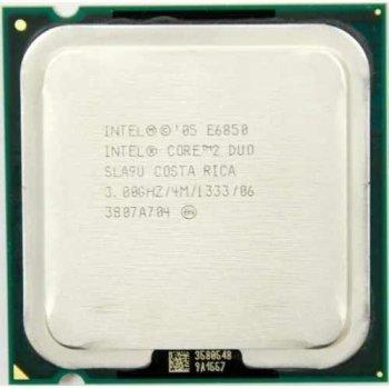 Б/У, Процесор, Intel Core 2 Duo e6850, 2 ядра, 3.0 GHz