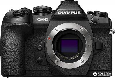 Фотоапарат Olympus OM-D E-M1 Mark II ED 12-40mm Kit Black/Black (V207061BE000) Офіційна гарантія!