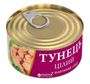 Тунец в собственном соку Fish Line 185 г (4820104250509)