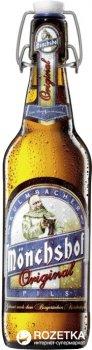 Упаковка пива Monchshof Original світле фільтроване 4.9% 0.5 л x 20 шт. (40821931)