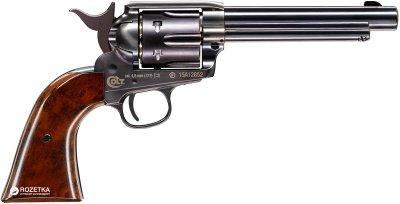 Пневматический пистолет Umarex Colt Single Action Army 45 Brown (5.8321)