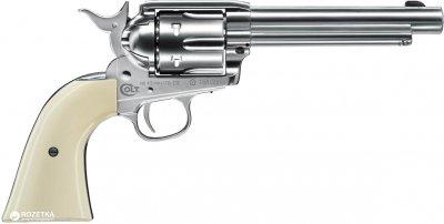 Пневматичний пістолет Umarex Colt Single Action Army 45 White (5.8322)