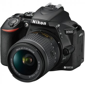 Фотоапарат Nikon D5600 AF-P 18-55mm f/3.5-5.6G VR Black (VBA500K001)