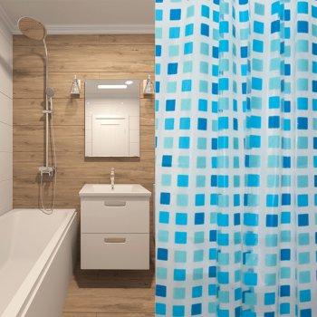 Шторка для ванної Мій Дім Mosaic 180 х 180 см (NJ10112)