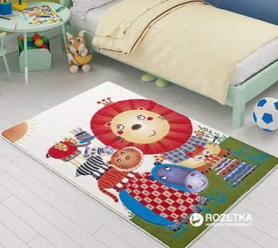 Коврик для детской комнаты Confetti Lion King 100х150 см Білий (8670318325731)