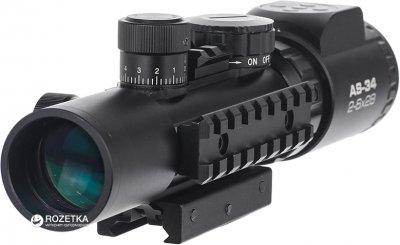 Оптичний приціл Konus Konuspro AS-34 2-6x28 Mil-Dot IR (7170)