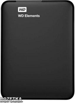 Жесткий диск Western Digital Elements 1.5TB WDBU6Y0015BBK-WESN 2.5 USB 3.0 External Black