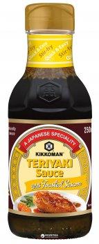 Соус-маринад Kikkoman Teriyaki с жареным кунжутом 250 мл (8715035280304)