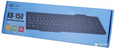 Клавіатура дротова Gemix KB-150 USB