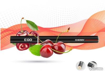 Одноразова електронна сигарета EGO Vaporizer 6 мг Cherry (Вишня) (6970380414152)