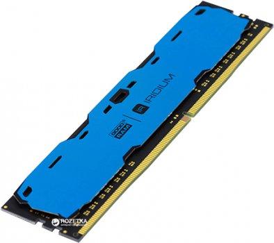 Оперативна пам'ять Goodram DDR4-2400 4096MB PC4-19200 IRDM Blue (IR-B2400D464L15S/4G)
