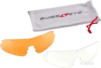 Защитные очки Swiss Eye Raptor Серые (23700510)