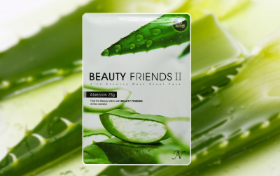 Маска для лица Beauty Friends II с алоэ вера 23 г (8809175171254)