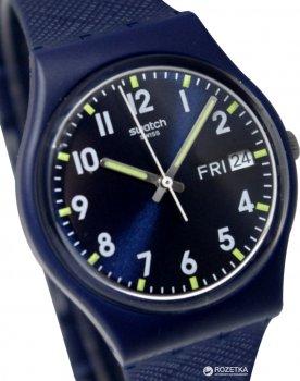 Чоловічий годинник SWATCH Sir Blue GN718