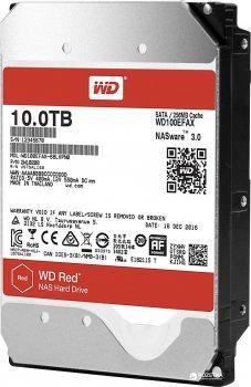 Жорсткий диск Western Digital Red 10TB 5400rpm 256MB WD100EFAX 3.5 SATA III
