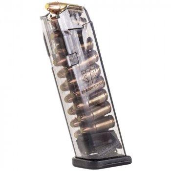 Магазин ETS для Glock 9мм (9х19) прозрачный, 22 патр.