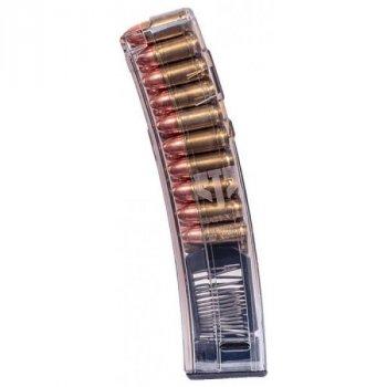 Магазин ETS для МР5 9мм (9х19) прозрачный, 20 патр.