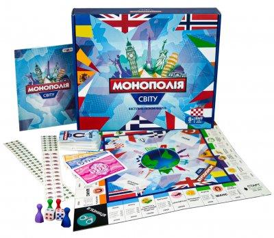 Настільна гра Strateg Монополія світу (4820220562340)