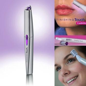 Жіночий трімер Finishing Touch Lumina A171 для видалення небажаного волосся на обличчі і тілі 17140