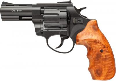 """Револьвер флобера STALKER S 3 """". Матеріал рукояті - пластик Wood"""