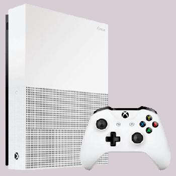 Консоль Стационарная Microsoft Xbox One S 1TB All-Digital Edition White Уценка