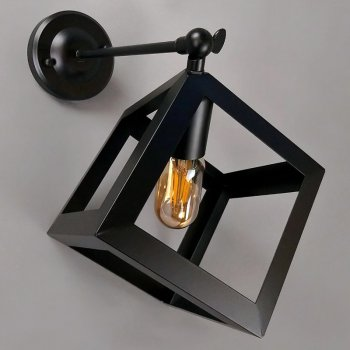 Бра настенное Light House NM-14784-A/1W BK черное