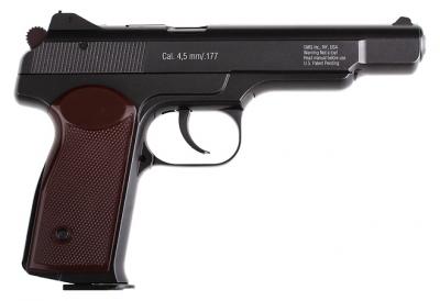 Пневматичний пістолет Gletcher APS BB Blowback Пістолет Стечкіна АПС блоубэк газобалонний CO2 120 м/с