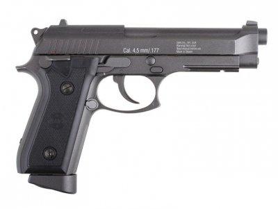 Пневматичний пістолет Gletcher BRT 92FS Blowback Beretta M92 FS блоубэк газобалонний CO2 100 м/с