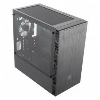 Корпус CoolerMaster MasterBox MB400L w/o ODD Black без БП (MCB-B400L-KNNN-S00)