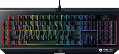 Клавіатура дротова Razer BlackWidow Ultimate Chroma V2 Yellow Switch (RZ03-02032300-R3M1)