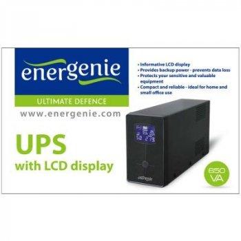 Джерело безперебійного живлення EnerGenie EG-UPS-031 650VA LCD (EG-UPS-031)