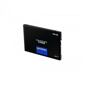"""SSD 256GB GOODRAM CX400 Gen.2 2.5"""" SATAIII 3D TLC (SSDPR-CX400-256-G2)"""