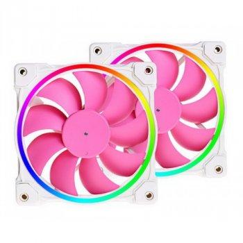 Система водяного охолодження ID-Cooling Pinkflow 240 ARGB, Intel: 2066/2011/1366/1151/1150/1155/1156, AMD: TR4/AM4/FM2+/FM2/FM1/AM3+/AM3/AM2+/AM2, 274х120х27 мм, 4-pin