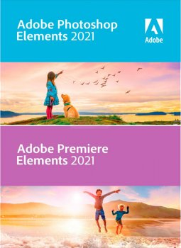 Adobe Photoshop Elements і Premiere Elements 2021 (безстрокова ліцензія) Multiple Platforms International English AOO License TLP 1 ліцензія 1 ПК (65313026AD01A00)