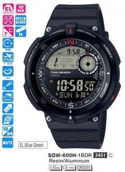Годинник CASIO SGW-600H-1BER