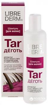 Шампунь Librederm Дьоготь для волосся будь-якого типу й очищення шкіри від жиру та лупи 250 мл (4620002182083)